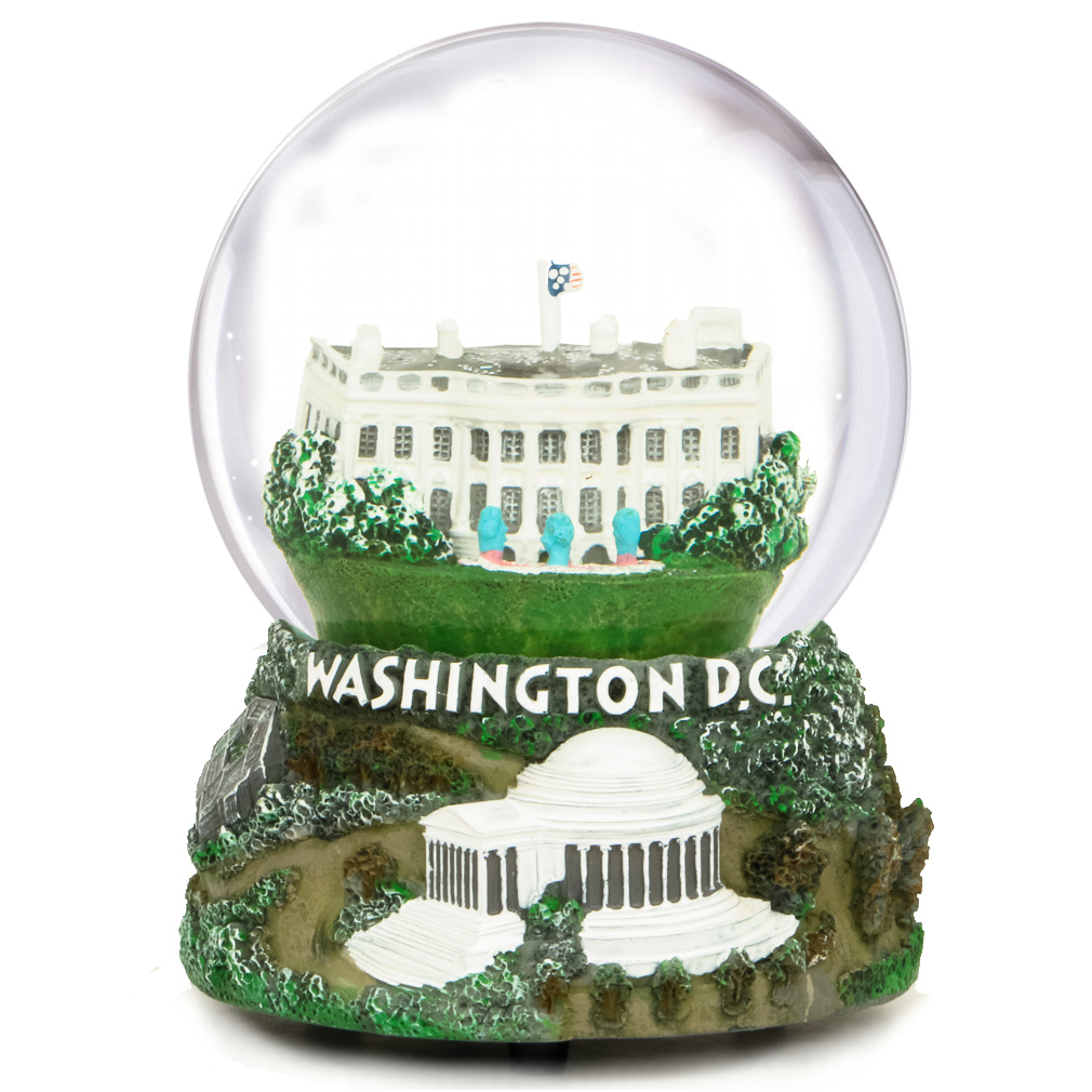 Washington DC Musical Snow Globe