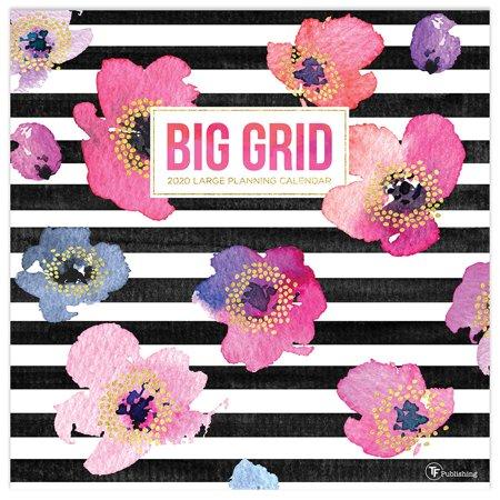 2020 Big Grid - Design Wall Calendar (Big Bang Wall Calendar)