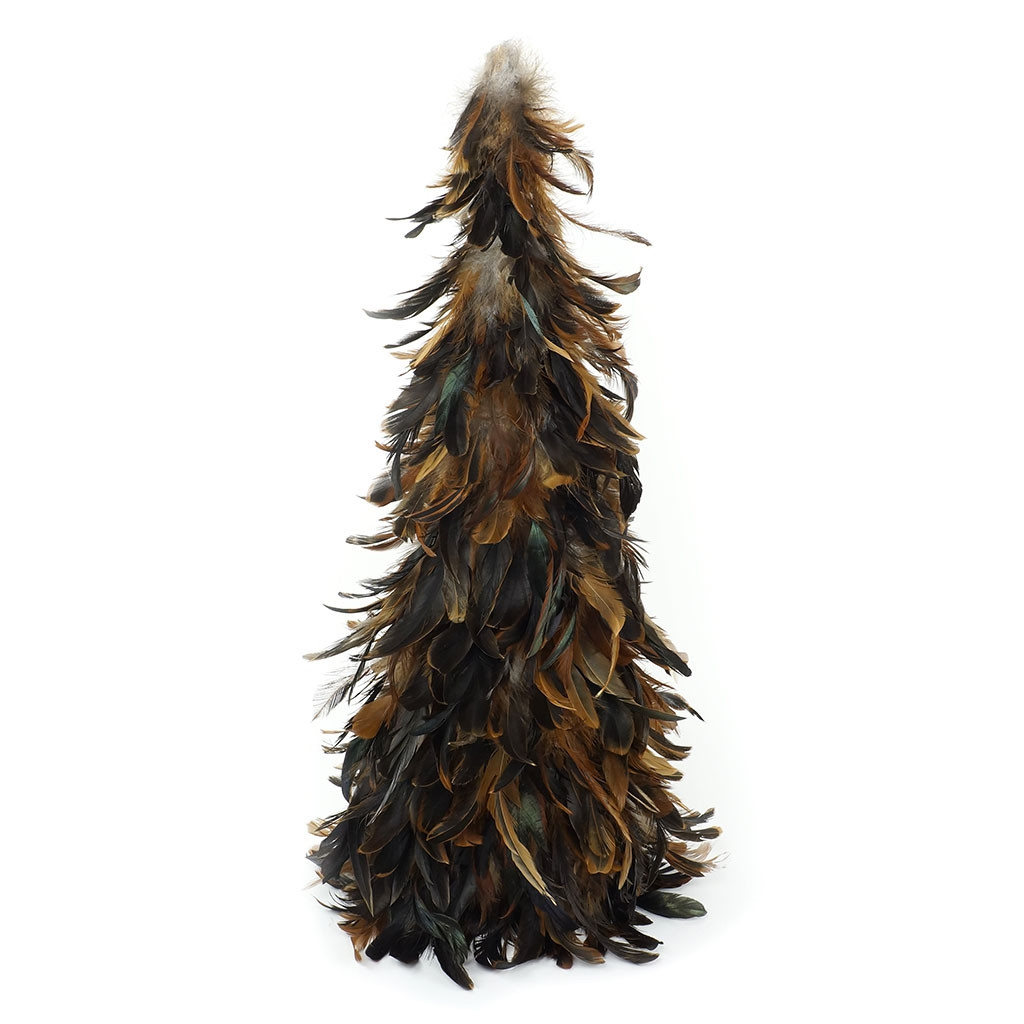 """Zucker Feather Products Natural Schlappen Feather Tree - 24"""" - Natural"""