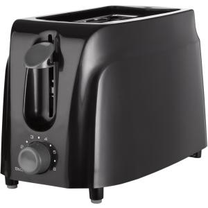 2SLICE TOASTER W/ COOL TOUCH BLACK