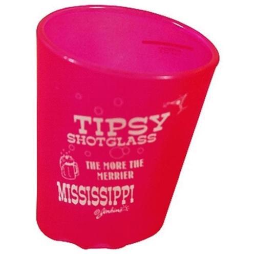 Bulk Buys Mississippi Tipsy Shot Glass - Case of 60