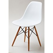 Gold Sparrow Lucas Wood Grain Dining Side Chair - Set of 2