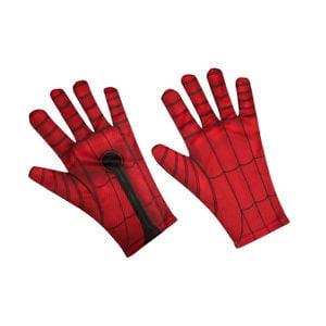 Spider Man 2 Gloves - Spider-Man Child's Glove Costume Accessory, One Size Fits Most