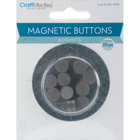 Magnetic Buttons-10mm 20/Pkg