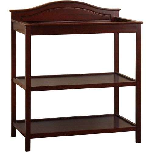 Child of Mine Traditional Style Changing Table, Black Cherry