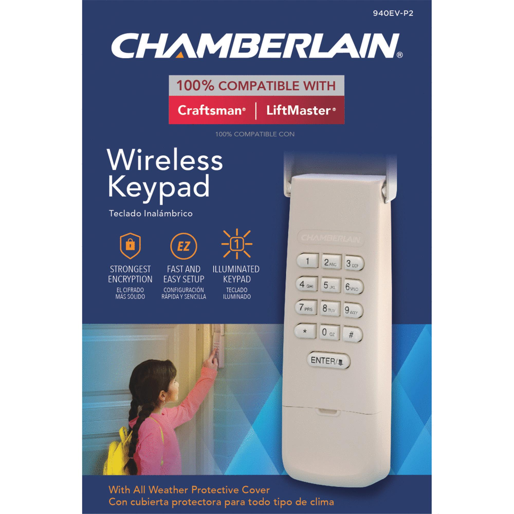 Chamberlain Garage Door Wireless Keyless Entry by CHAMBERLAIN CORP