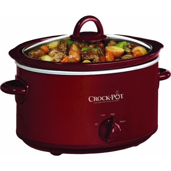 Rival 4 Quart Crock-Pot Slow Cooker