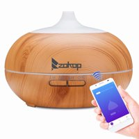 ZOKOP 18oz Air Humidifier and Air Diffuser Purifier Atomizer,Portable Cool Mist Humidifier Colorful Light Changing