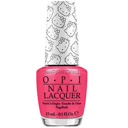 Hello Kitty by OPI, Spoken From The Heart - Hello Kitty Halloween Nail Designs