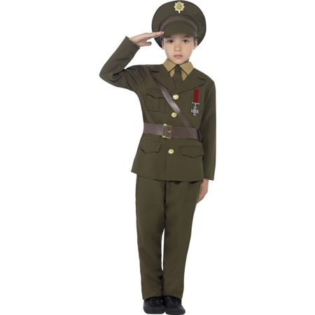 Army Officer Costume, Large - Cheap Army Costumes