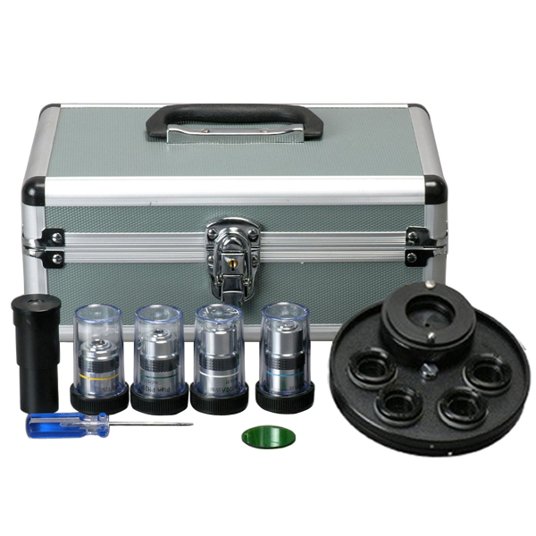 AmScope Microscope Turret Phase Contrast Kit by United Scope