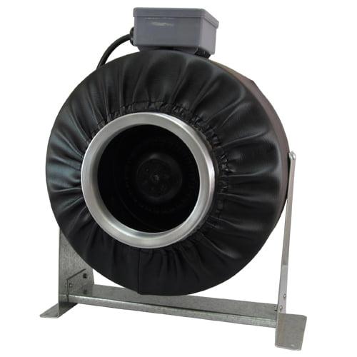 "Virtual Sun 4"" Inline Exhaust  Duct Fan 192 CFM Blower Hydroponics Vent - VS400F"
