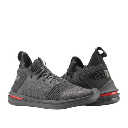aea4f596543 PUMA - Puma Ignite Limitless SR EvoKnit Black Red Men s Running Shoes  19048401 - Walmart.com