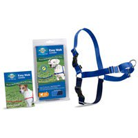 PetSafe Easy Walk No Pull Dog Harness, Medium, Royal Blue