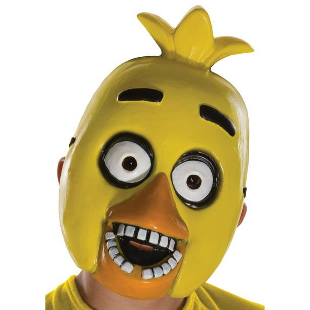 Fnaf chica in panties and socks Rubie S Five Nights At Freddy S Chica Child Pvc Mask Walmart Com Walmart Com