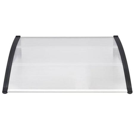 Door Window Sunshade Canopy DIY Sun Shelter Anti UV Outdoor Entrance Door Awning ()
