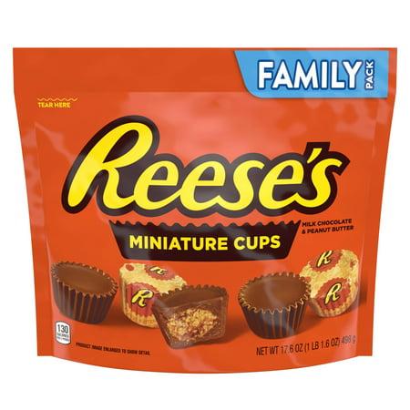 Reeses Miniature Chocolates - 17.6oz