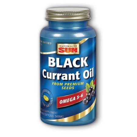 Black Currant Oil 500mg Health From The Sun 90 Caps