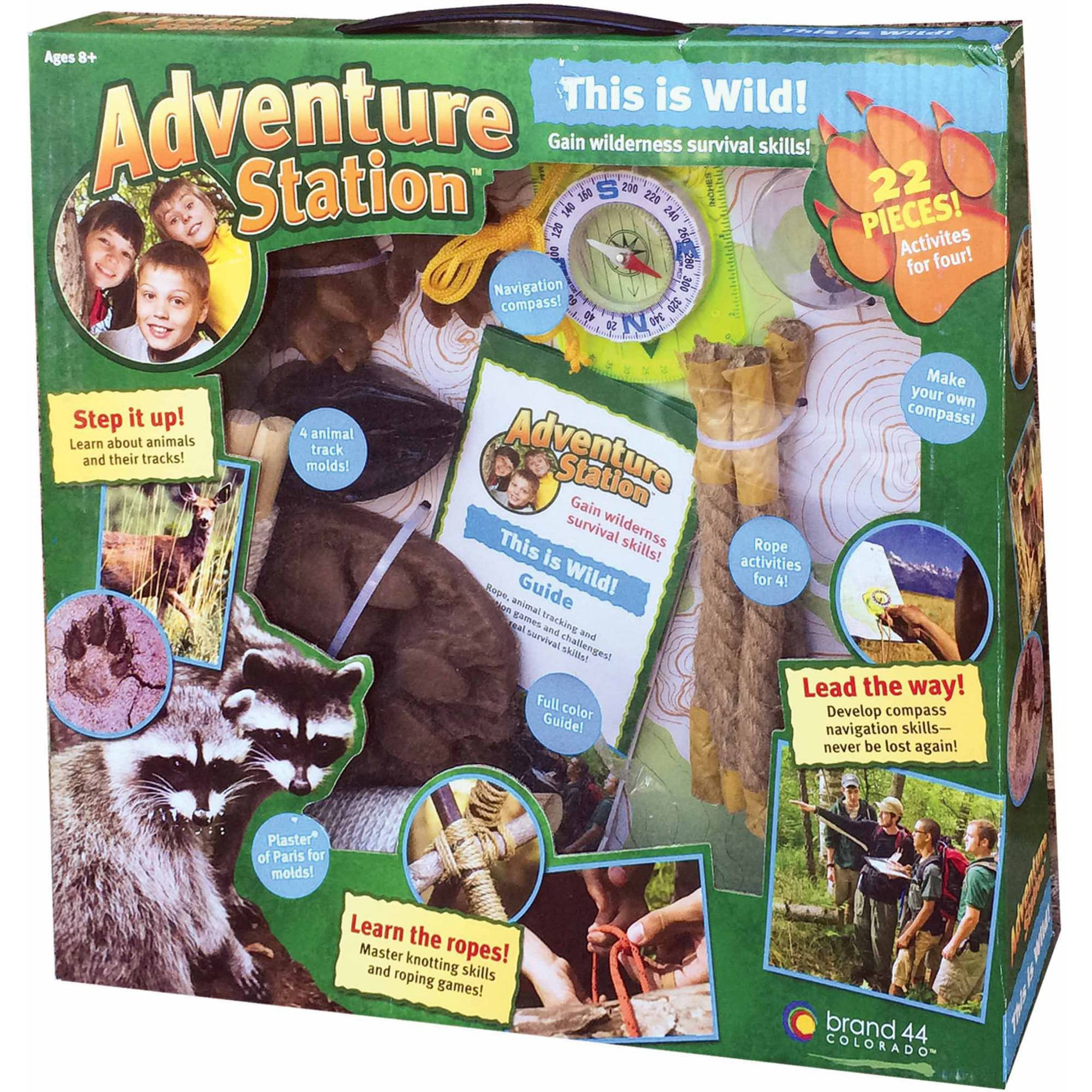 "b4Adventure Adventure Station ""This is Wild"" Survival Kit by b4 Adventure"