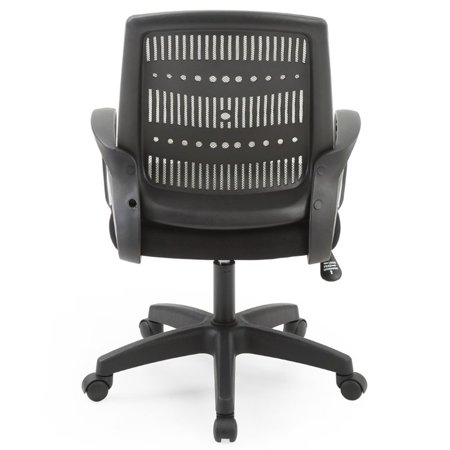 Pemberly Row Adjustable Height Swivel Task Chair in Gray - image 2 of 5
