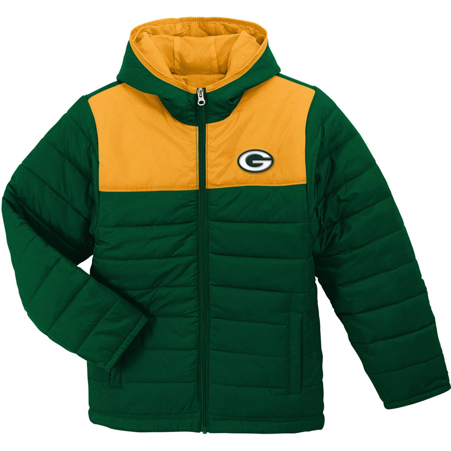 Nfl Green Bay Packers Youth Winter Jacket Walmart Com