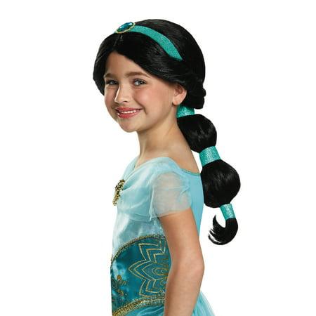 Child Princess Jasmine Costume Wig - Jasmine Aladdin Wig