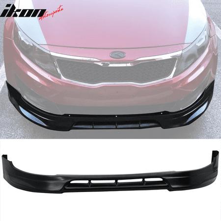 Fits 11-13 Kia Optima Base ONLY IKON Style Front Bumper Lip Splitter - PU
