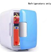 JUST BUY IT Portable Car Freezer 4L Mini Fridge Refrigerator Car Refrigerator Cooler