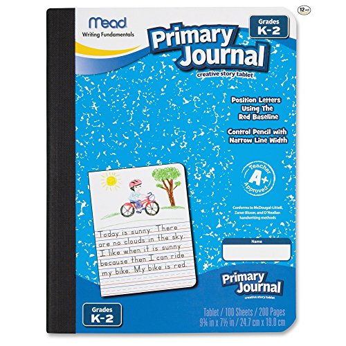 Acco Mead Primary Journal Creative Story Tablet, Grades K...