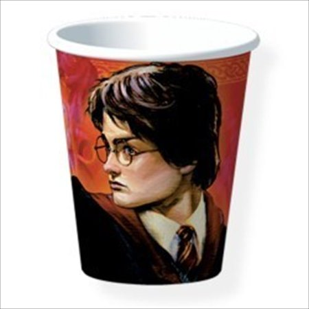 Harry Potter 'Goblet of Fire' 9oz Paper Cups (8ct)