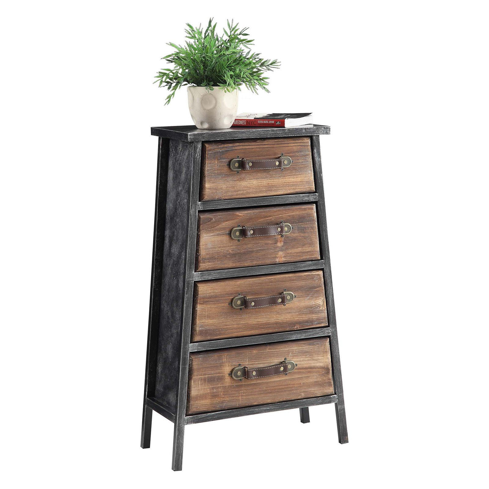 4D Concepts Urban Loft 4 Drawer Chest