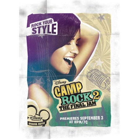 Camp Rock: The Final Jam (2010) 11x17 Movie