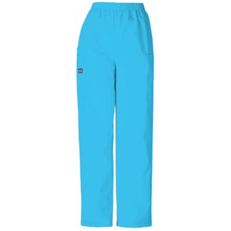 Cherokee Womens Daisy - Cherokee Womens Natural Rise Tapered Leg Pull On Cargo Pant, Blue Mist, X-Small