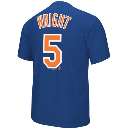 David Wright New York Mets Majestic MLB Player Men T Shirt