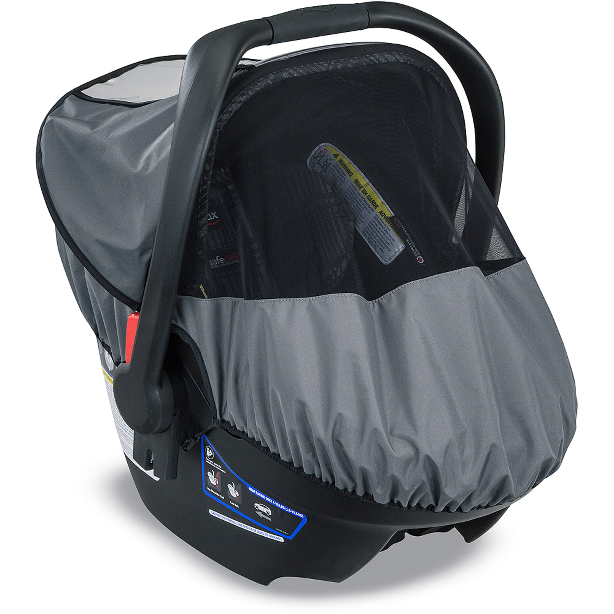 Britax B SAFE 35 Infant Car Seat Slate Strie