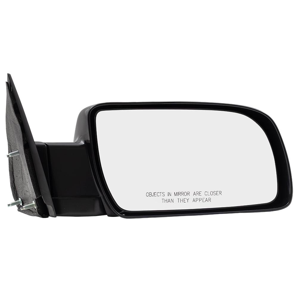 Passengers Manual Side View Mirror Standard Type w/ Metal ...