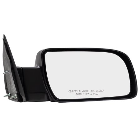 98 Chevy S10 Blazer Mirror (Passengers Manual Side View Mirror Standard Type w/ Metal Base Replacement for Chevy GMC Pickup Truck Blazer Suburban Yukon Tahoe)