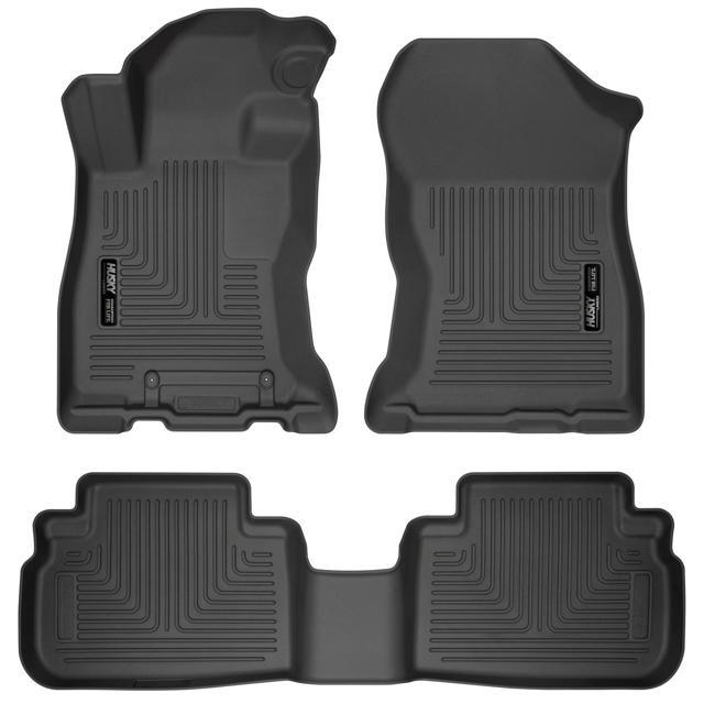 Husky Liners Front & 2nd Seat Floor Liners for 2019 Subaru Forester 95891
