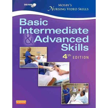 Mosbys Nursing Video Skills   Student Version Dvd  Basic  Intermediate  And Advanced Skills