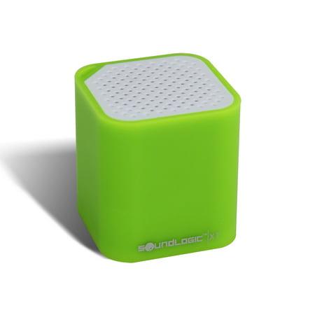 Soundlogic xt 2 in 1 portable bluetooth mini cube speaker for Soundlogic xt