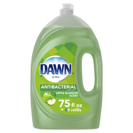 Dawn Ultra Antibacterial Liquid Dish Soap, Apple Blossom, 75 fl oz