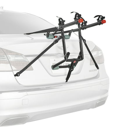 Allen Sports Deluxe 2-Bicycle Trunk Mounted Bike Rack Carrier, 102DN Back Two Bike Trunk Rack
