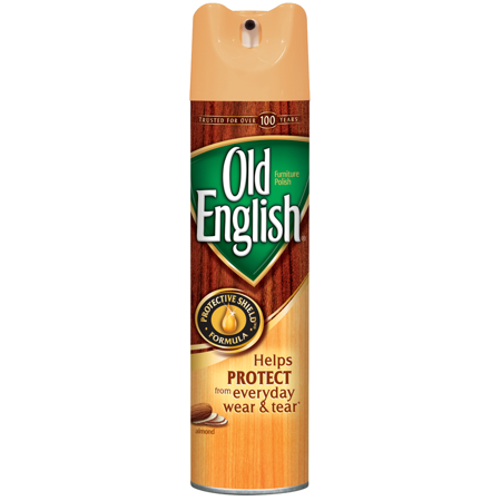 (2 Pack) Old English Furniture Polish, Almond 12.5oz (Old English Cheese Spread Crab English Muffin)