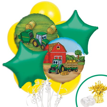 John Deere Johnny Tractor Balloon Bouquet - Walmart.com