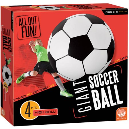 All Out Fun! Giant Inflatable Soccer Ball