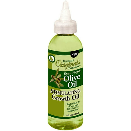 - Ultimate Organic Therapy Extra Virgin Olive Oil Stimulating Growth Oil 4 oz