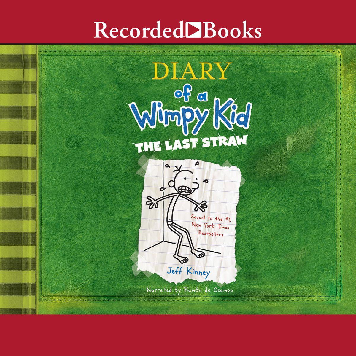 Diary Of A Wimpy Kid The Last Straw Audiobook Walmart Com Walmart Com