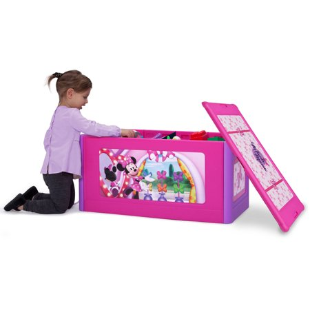 Disney Minnie Mouse Store And Organize Toy Box