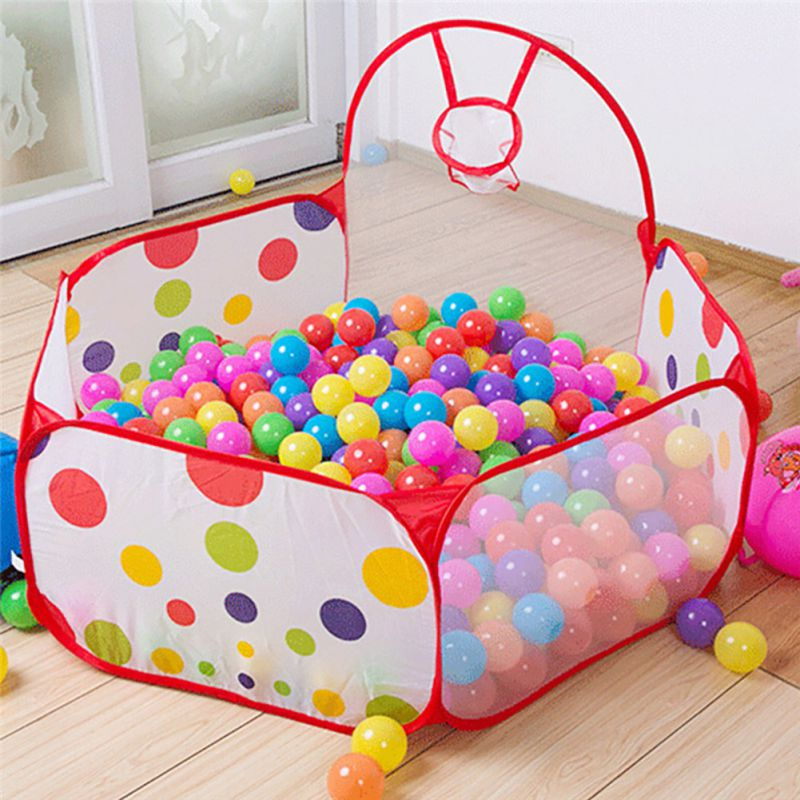 Outdoor/Indoor Kids Game Play Children Toy Tent Portable Ocean Ball Pit Pool NEW : ball pit tent - memphite.com