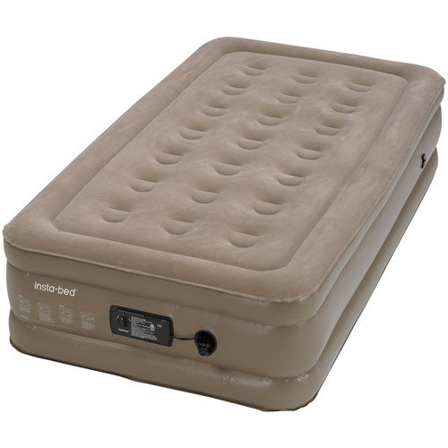 Insta-bed Raised Air Bed with Integrated AC Pump, Multiple Sizes